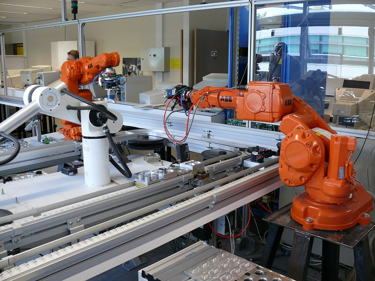 ABB Industrial Automation Robots
