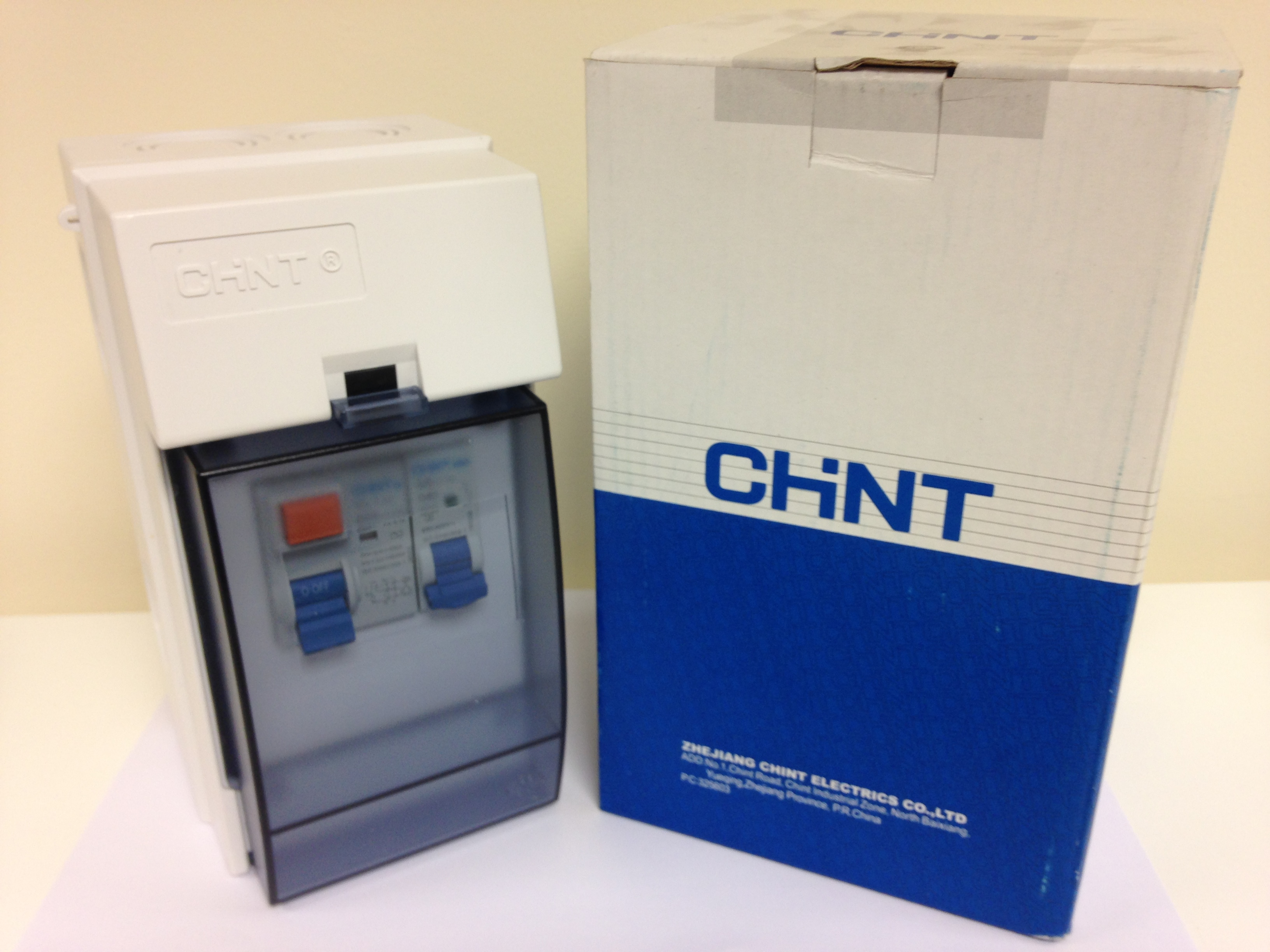 chint garage shed consumer unit ip65 rated fuse box 63a rcd 1x40a Breaker Box chint garage shed consumer unit ip65 rated fuse box mcb a29800
