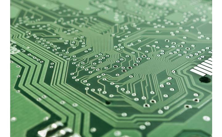 circuit board close up