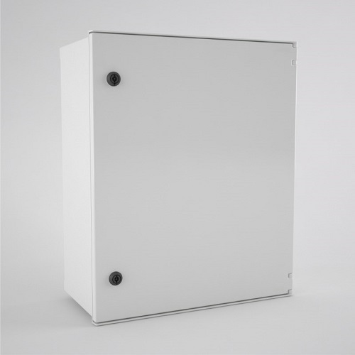 BRES-65-3L-DC Safybox GRP Electrical Enclosure IP66 3 position lock 600Hx500Wx230D