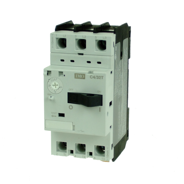 imo c4/32t-13 thermal/mag motor circuit breaker 9-13a