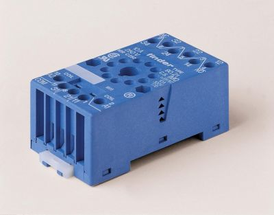 FINDER Relay Base 8 PIN Sockets for 60/88 series relays or 35 mm rail mount