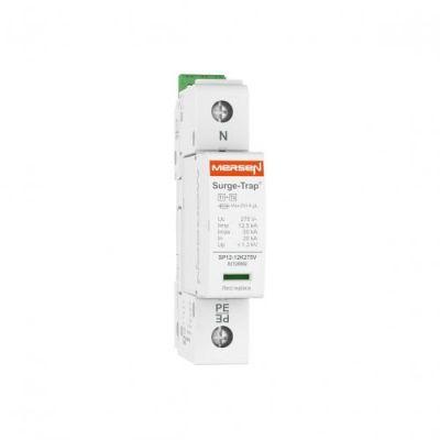 Mersen Surge Protector Type 1+2 SPD 1 Pole 230 Volt 20KA L-N Remote Indication