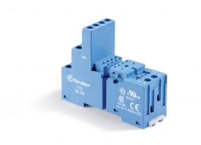 FINDER Relay Base 14 PIN Blue 250VAC Sockets for 55 and 85 series relays