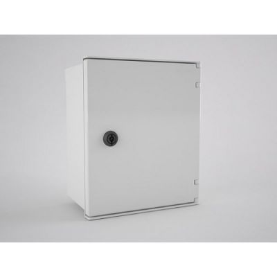 BRES-325 Safybox GRP Electrical Enclosure IP66 with a Plain Door 300Hx250Wx140D