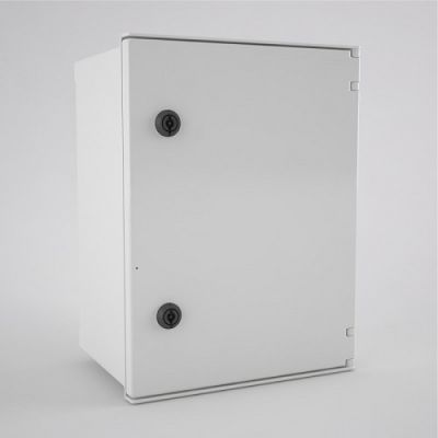 BRES-43 Safybox GRP Electrical Enclosure IP66 with a Plain Door 400Hx300Wx200D