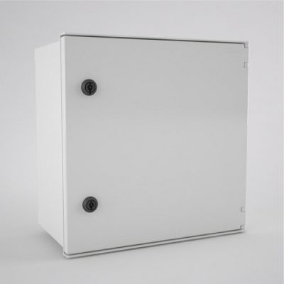 BRES-44 Safybox GRP Electrical Enclosure IP66 with a Plain Door 400Hx400Wx200D
