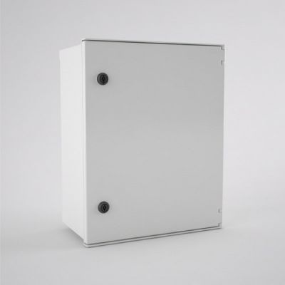 BRES-54 Safybox GRP Electrical Enclosure IP66 with a Plain Door 500Hx400Wx200D
