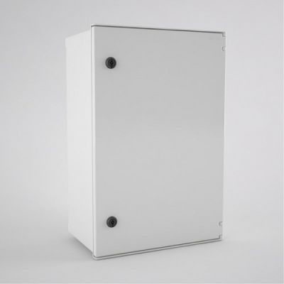 BRES-64 Safybox GRP Electrical Enclosure IP66 with a Plain Door 600Hx400Wx230D