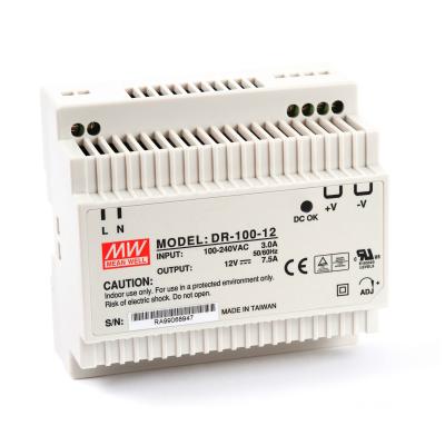 Mean well DR-100-12 100 Watt Power Supply 12V 7.50A output
