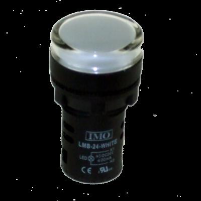 IMO PL22-D-G-24 Green Pilot Light 6-30V 1W 22mm I68A MBC009c
