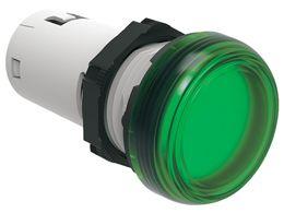 lovato lpmle3 green led pilot light 110vac 22mm