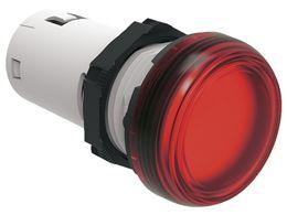 lovato lpmle4 red led pilot light 110vac 22mm
