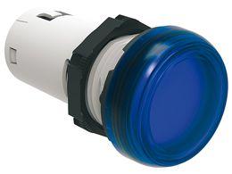lovato lpmle6 blue led pilot light 110vac 22mm