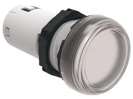 lovato lpmlm7 white led pilot light 230vac 22mm