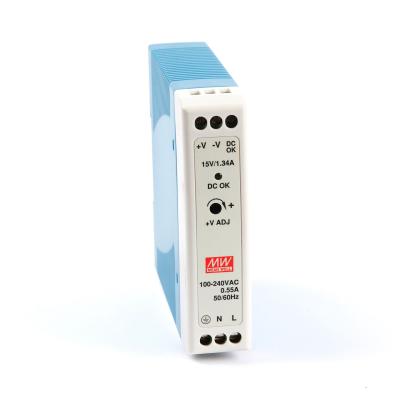 Mean well MDR-20-15 20 Watt Power Supply 15V 1.3A output