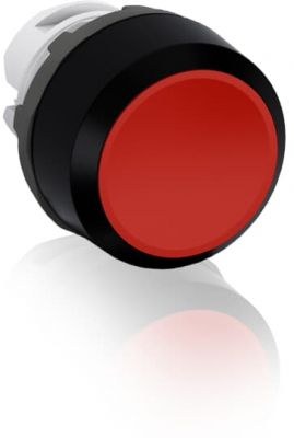 abb maintained red non-illuminated flush push button 22mm mp2-10r