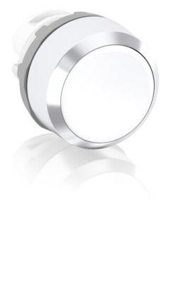 abb maintained white non-illuminated flush push button 22mm mp2-20w