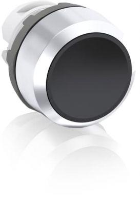 abb maintained black non-illuminated flush push button 22mm mp2-30b