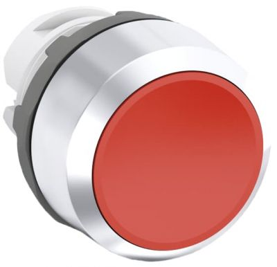 abb maintained red non-illuminated flush push button 22mm mp2-30r