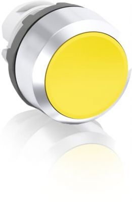 abb maintained yellow non-illuminated flush push button 22mm mp2-30y
