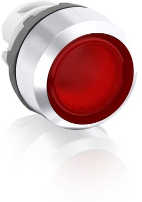 abb maintained red illuminated flush push button 22mm mp2-31r
