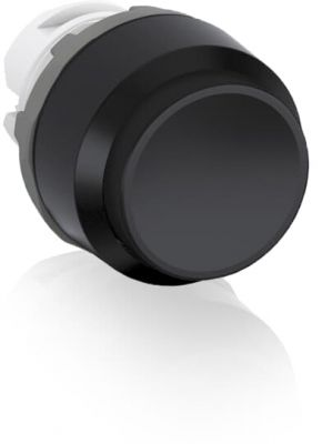 abb momentary black non-illuminated extended push button 22mm mp3-10b