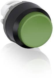 abb momentary green non-illuminated extended push button 22mm mp3-10g
