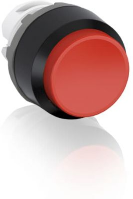 abb momentary red non-illuminated extended push button 22mm mp3-10r