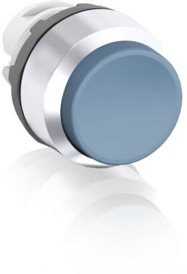 abb momentary blue non-illuminated extended push button 22mm mp3-20l