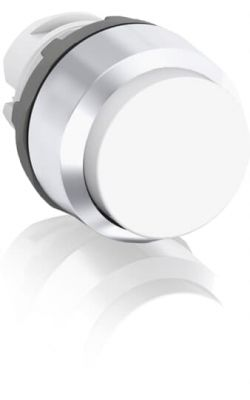 abb momentary white non-illuminated extended push button 22mm mp3-20w