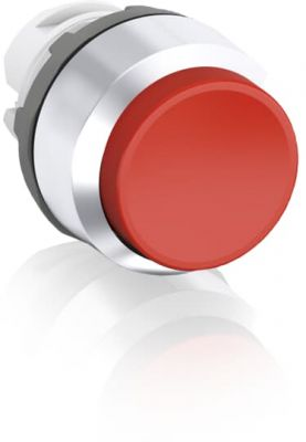 abb momentary red non-illuminated extended push button 22mm mp3-30r
