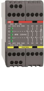 ABB rt7b 3s 230ac  abb safety relay
