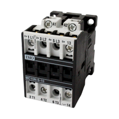 imo mc10n-s-00-4024dc contactor 4 pole 4kw 10a ac3, 24vdc