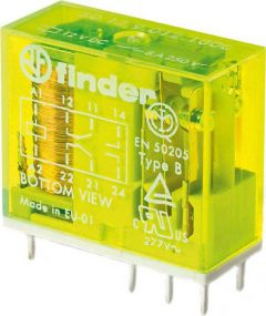 50.12.9.110.1000 Finder Safety relay 2pole 8A DC 110V