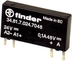 34.81.7.024.7048 Finder Solid State Relay 1NO 24 V DC 0.1A 48 VDC