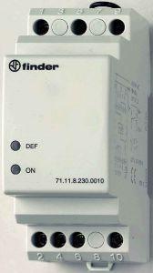 71.11.8.230.0010 Finder Monitoring relay 1 phase AC 230V