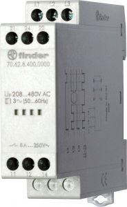 70.62.8.400.0000 Finder Monitoring relay 3 phase AC 208/480V