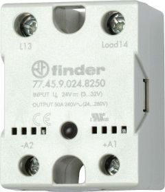 77.45.9.024.8650 Finder solid state relay (SSR) DC 24V 48/600VAC