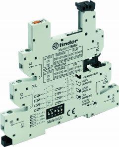 93.68.0.024 Finder MasterTIMER socket for 34 series relay DC 24V