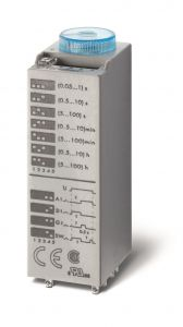 85.04.8.240.0000 Finder Miniature timer 4 pole 7A 230/240V