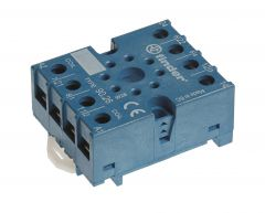 90.27SMA Finder relay base din rail mount for relays 60.13 88.02