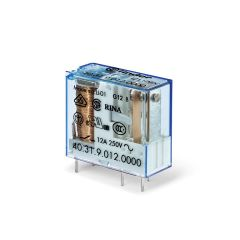 FINDER Miniature PCB Relay 10A 12VDC 1pole 3.5mm pinning 40.31.7.012.0000