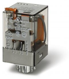FINDER 3C/O General purpose relay 11P 24VAC LED/LATCH/TEST 10A 3pole