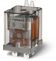 FINDER Power Relay 20A 230VAC 1 NO + 1 NC 230V (50/60 Hz) 65.31.8.230.0000