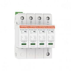 Mersen Surge Protector Type 2 SPD 2 Pole 120 Volt 20KA TNS Remote Indication