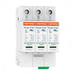 Mersen Surge Protector Type 2 SPD 3 Pole 600 Volt D/C 20KA Y-P Volt Remote Indication
