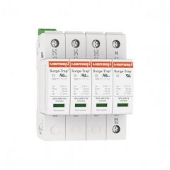 Mersen Surge Protector Type 2 SPD 4 Pole 230/400 Volt 20KA TT Remote Indication