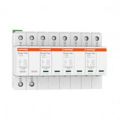 Mersen Surge Protector Type 1+2 SPD 4 Pole 230/400 Volt 25KA TT Remote Indication
