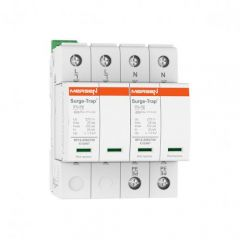 Mersen Surge Protector Type 1+2 SPD 2 Pole 230 Volt 25KA TNS Remote Indication